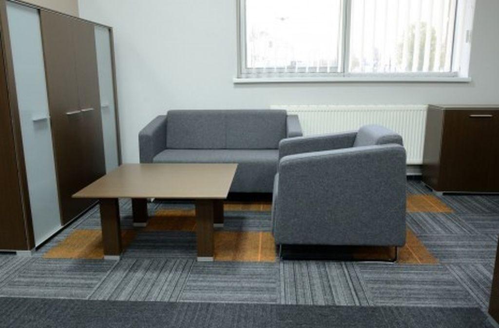 Commercial Flooring - image of an office flooring solution